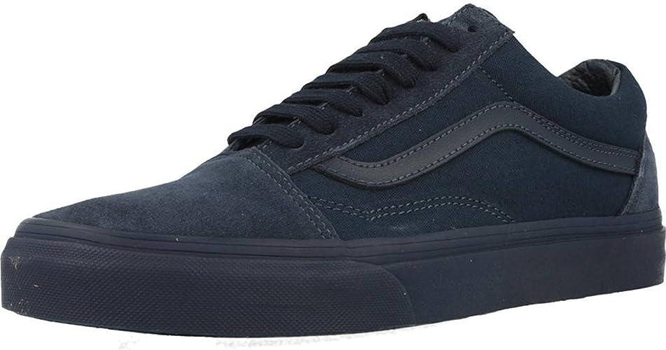 Amazon.com | Vans Unisex Old Skool Mono Skate Shoes-Dress ...