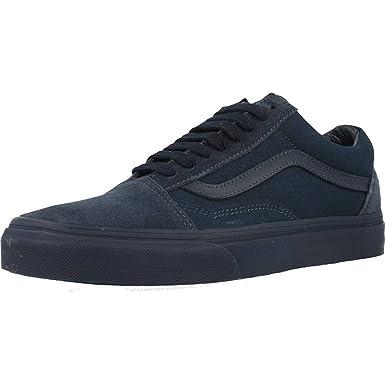vans old skool mono trainer dress blue