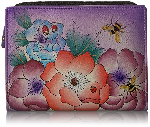 Anna by Anuschka Clutch Wallet | Genuine Leather | Paradise Found