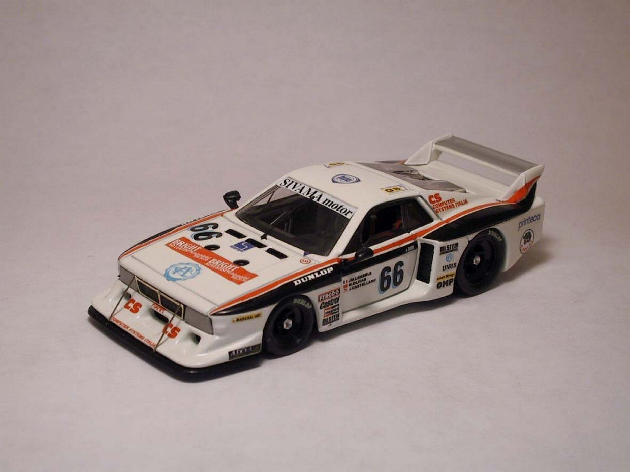 BEST MODEL BT9212 LANCIA BETA MONTECARLO N.66 12th LM 1982 DIE CAST 1:43 MODEL