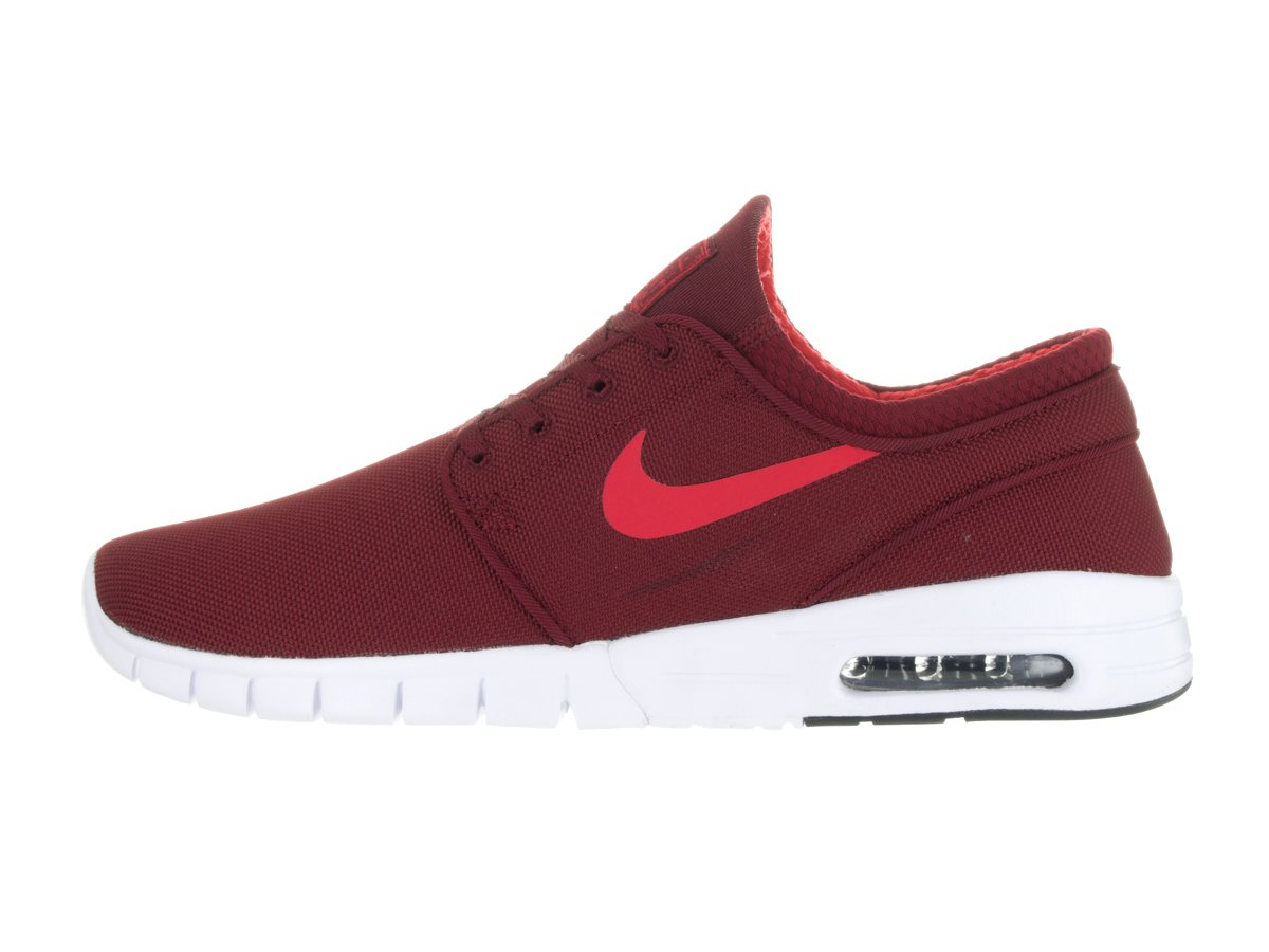 Nike Men s Stefan Janoski Max Track Red/WhiteSneakers   6.5 D(M) US
