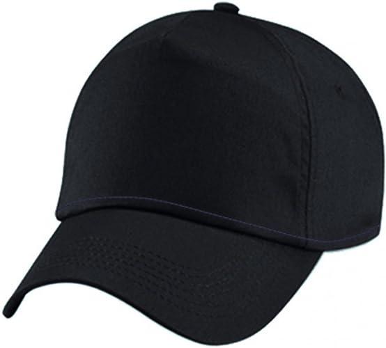 Cappello Nero Uomo Donna Cappelli Neri Con Visiera Curva Golf Baseball Berretto Amazon It Scarpe E Borse