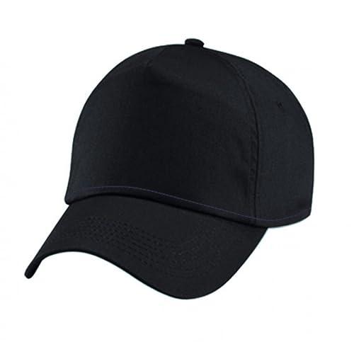 Cappello Nero Uomo Donna Cappelli Neri con Visiera Curva Golf Baseball  Berretto  Amazon.it  Scarpe e borse a4ae2cff9c62