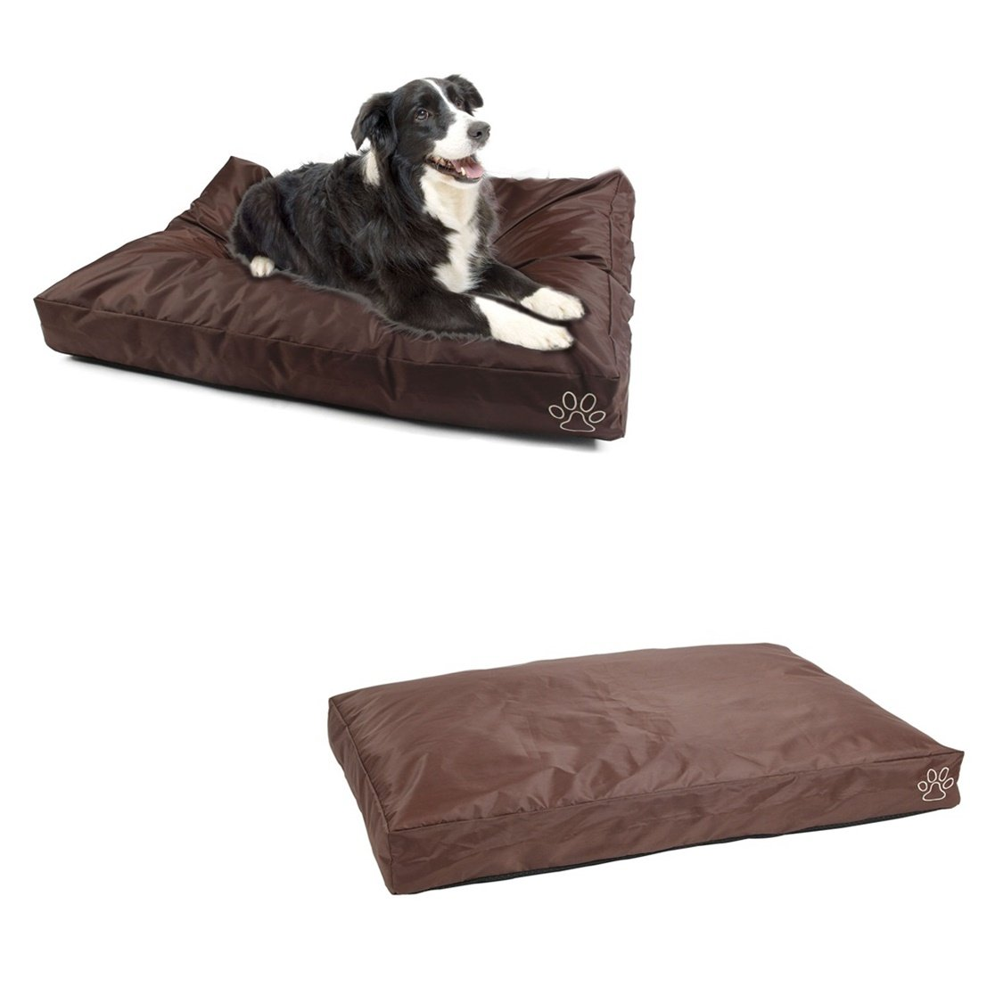1Pcs Tip-top Popular Pet Bed Cover Size L 36'' x 29'' Dirty Protects Dog Comfort Warm Case Color Type Brown Oxford