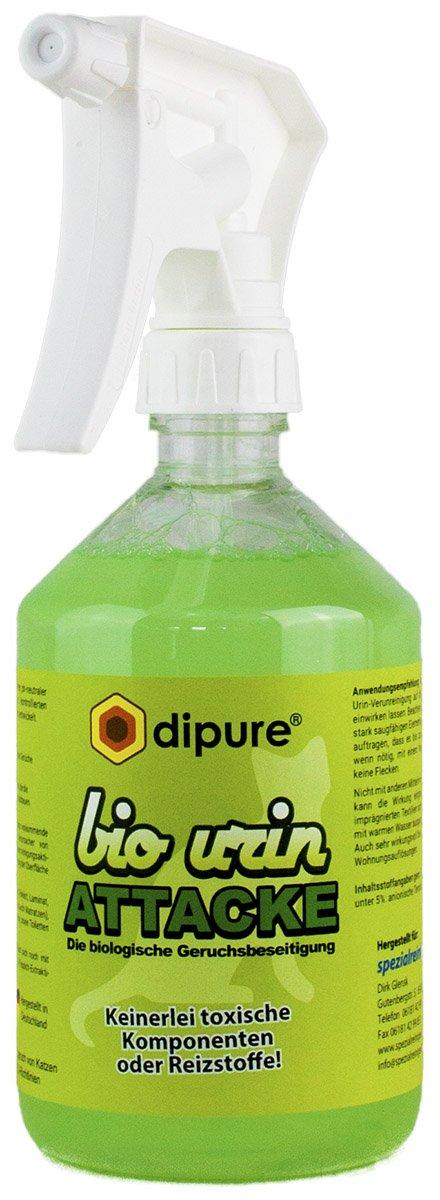 Dipure Bio Urin Attacke Neutraliseur d'odeur d'urine de chat 1000ml dipure®