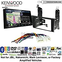 Volunteer Audio Kenwood Excelon DNX994S Double Din Radio Install Kit with GPS Navigation Apple CarPlay Android Auto Fits 1998-2005 Lexus GS Series