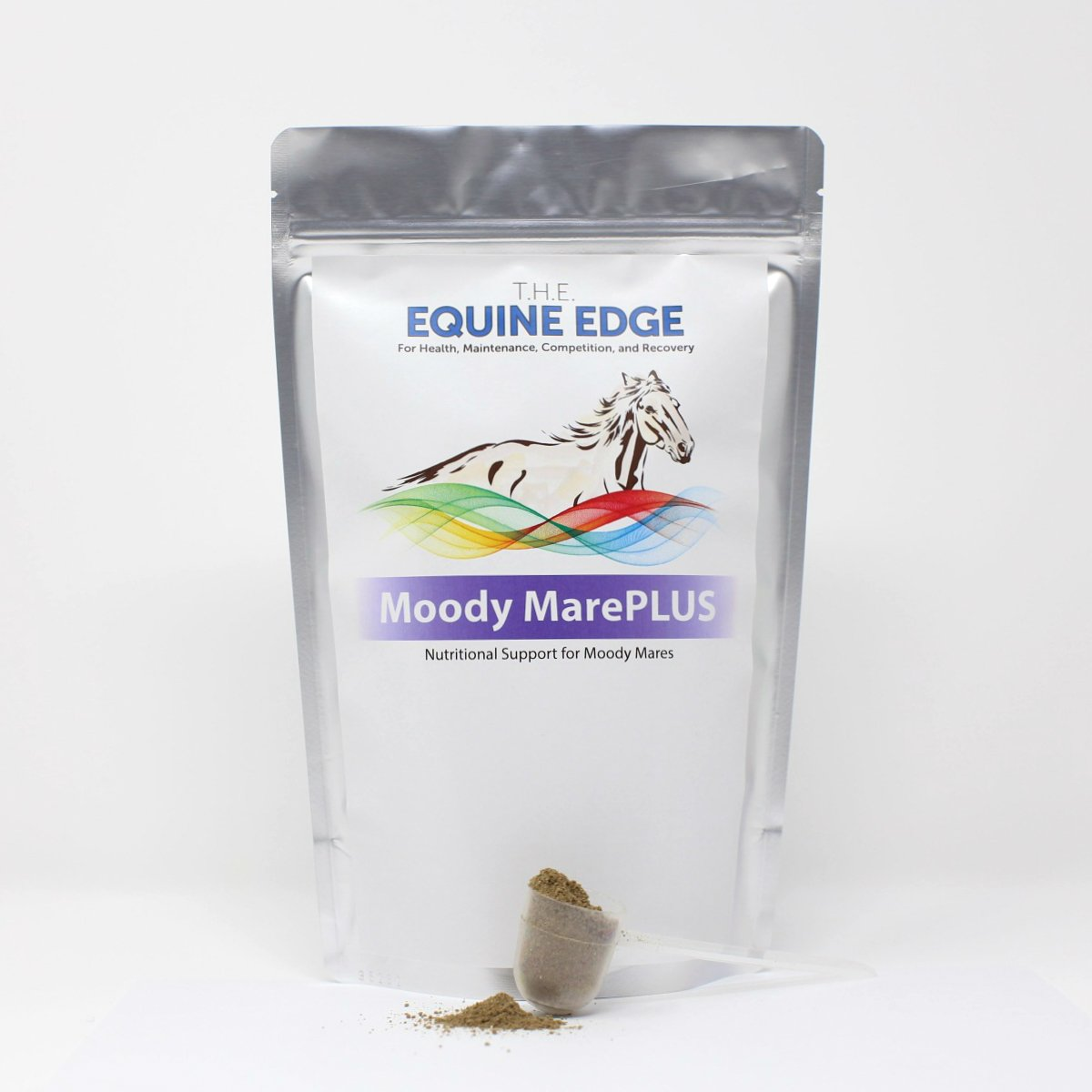 T.H.E. Equine Edge Moody MarePLUS - Extra Moody Mare, Gelding Calming Supplement, 30 Servings by T.H.E. Equine Edge