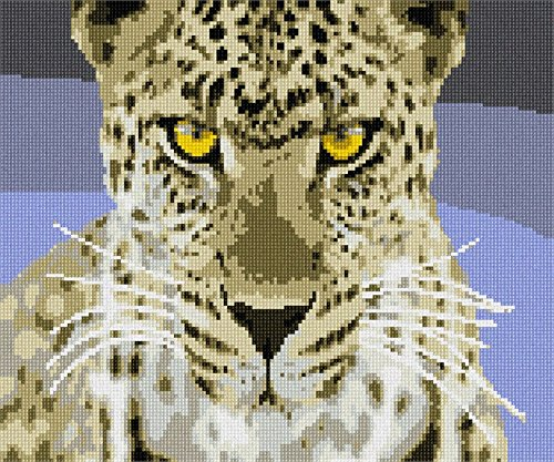 Fierce Leopard Needlepoint Kit