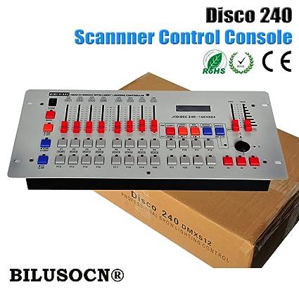 Amazon com: BILUSOCN Best Price 240 DMX Controller wireless