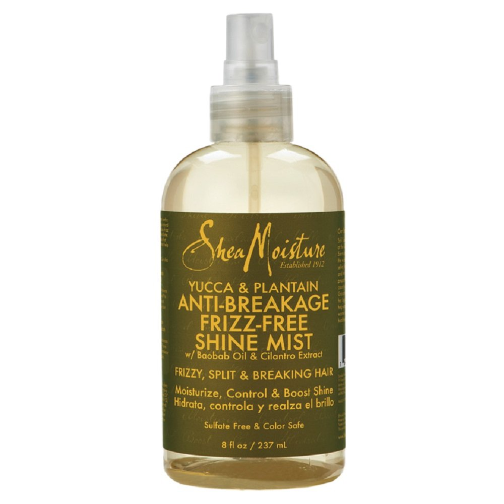Shea Moisture Yucca & Plantain Anti-Breakage Shine Mist - 8 oz