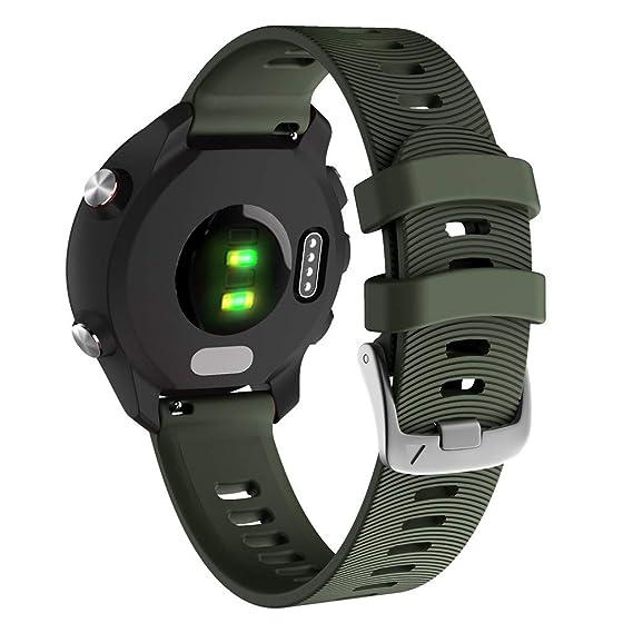 Baiomawzh Correas para Reloj Compatible con Garmin ...