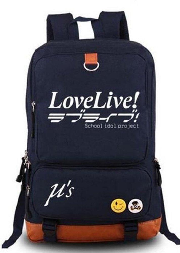 YOYOSHome Anime Love Live! Cosplay Luminous Messenger Bag Backpack School Bag