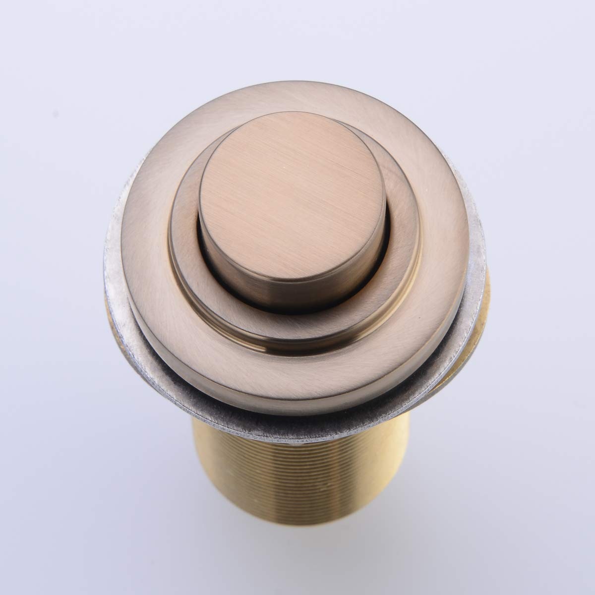 SINKINGDOM SinkTop Air Switch Kit (Full Brass) for Garbage Disposal, Cordless (Champagne Bronze) by SINKINGDOM (Image #2)