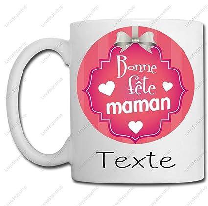 Fête Anniversaire Linyatingoshop Idée Mug Maman Bonne CoeurPrénom Mères Famille Cadeau Texte Noël Petit Ou Des yOPm8vN0wn