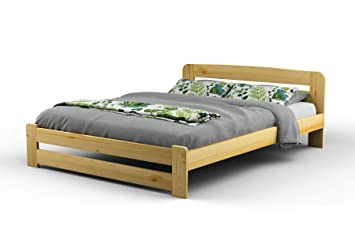 New Super King Size Solid Wooden Bed Frame F1 With Slats And Extra