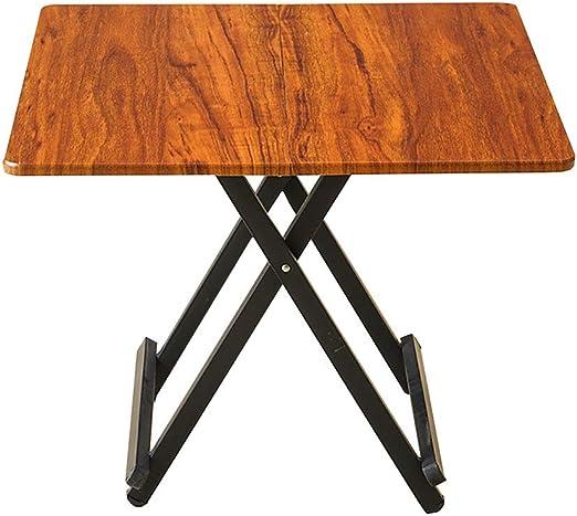YXX- Pequeño Comedor Plegable portátil para Comer mesas de Madera ...