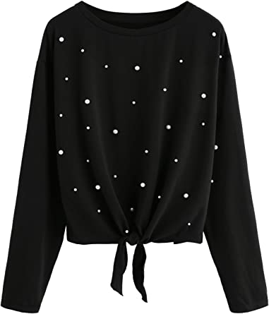 Womens Contrast Color Long Sleeve T-shirts Kiss Me