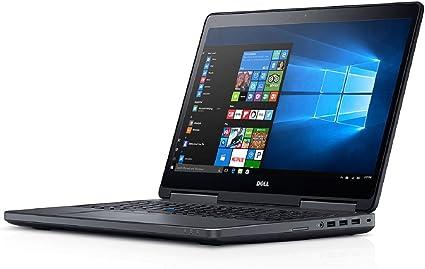 """Amazon.com: Dell Precision 7720 7720 Laptop (Windows 10 Pro, Intel  i7-6820HQ, 17.3"""" LCD Screen, Storage: 500 GB, RAM: 8 GB) Black: Computers &  Accessories"""