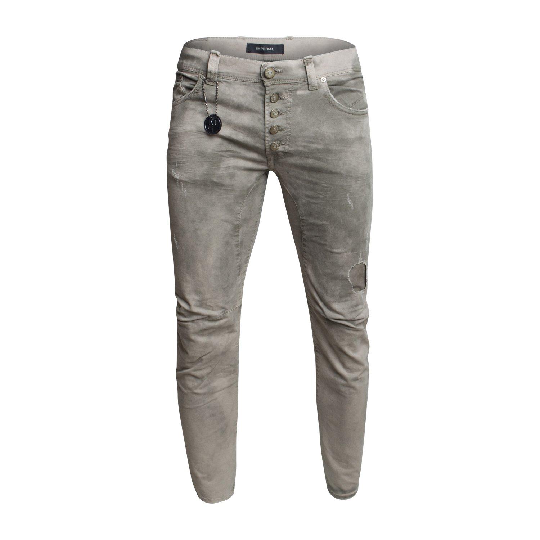 Herren Jeans Hose Trousers von Imperial Farbe Grün Olive: Amazon.de:  Bekleidung
