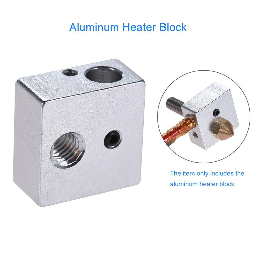 Anet - Bloque de calentador de aluminio para impresora 3D ...