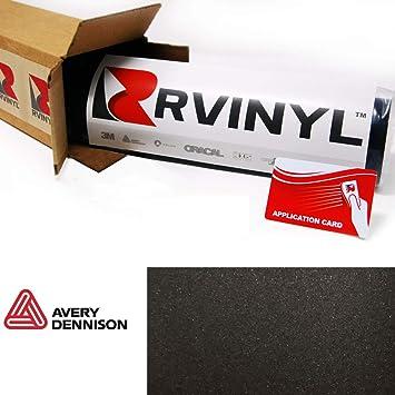 12 x 60 w//Application Card Avery SW900 197-O Satin Black Supreme Wrapping Film Vinyl Vehicle Car Wrap Sheet Roll