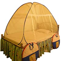 Healthy Sleeping Foldable Polyester Single Bed Mosquito Net, Manufacturer and Original Seller SOUMYA Enterprise