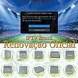 16 16-Digit Renew Code for HTV 1 2 3 5 / A2 / A1 / IPTV 5 6 / IPTV5+Plus IPTV Brazil/Brazilian Renewal/Portuguese TV Box Subscription Service Valid for 400 Days