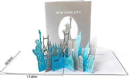Amazon.com: Papel spiritz Silueta de Nueva York Big Apple ...
