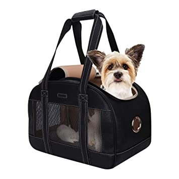 Amazon.com: PetsHome Bolso de transporte para perros ...