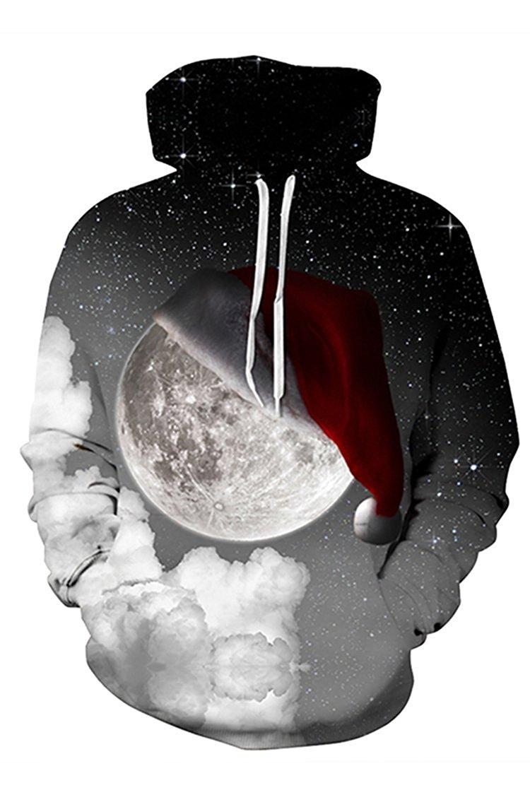 Lacostew SWEATER レディース B074PKDJM3 3L|Christmas Moon Christmas Moon 3L