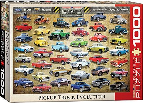 EuroGraphics Pickup Truck Evolution Jigsaw Puzzle