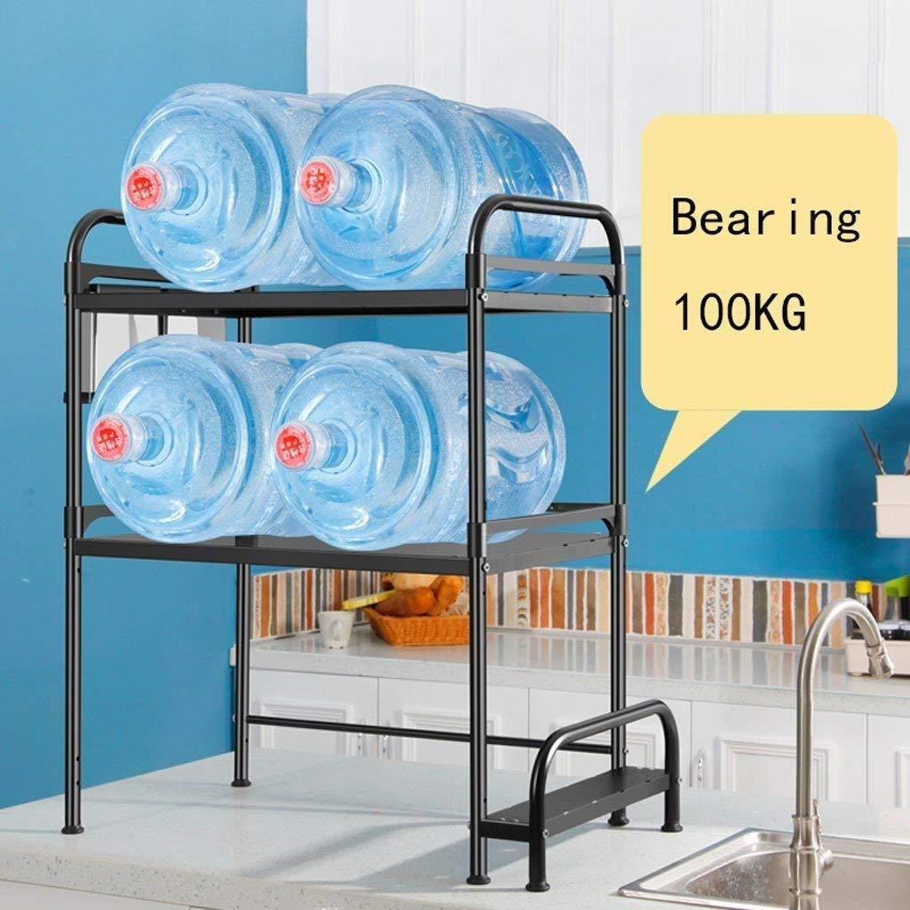 RMJAI Regale K/üchenregal Lagerregal Regal Metallschrank Multi-Layer-Mikrowelle Lagerregal Gew/ürzflaschen Organizer Aufbewahrung Regal Size : 53cm
