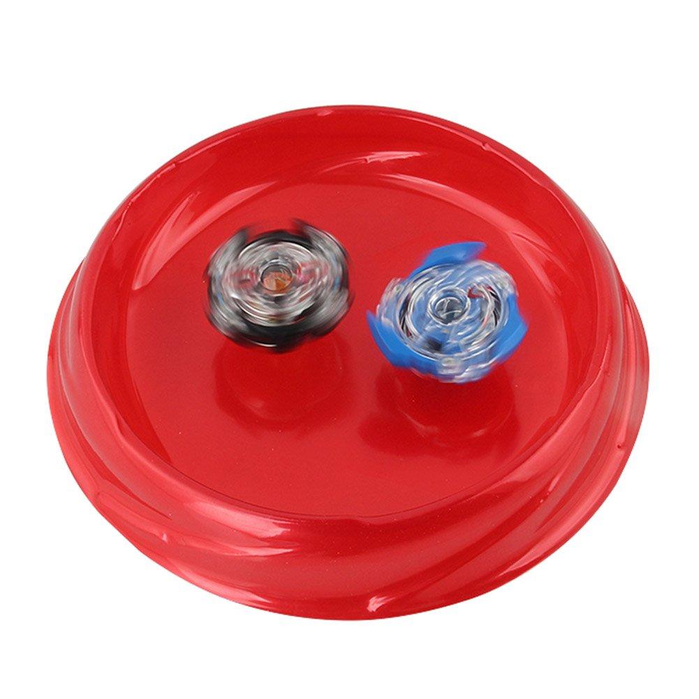 Lavendei Set de Beyblade Lutte Ma/îtres Fusion Spinning Top Toupie Gyro M/étal Rapidit/é Jouet et Cadeaux Int/éressant pour Enfants