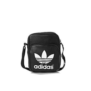 1cf06835bd adidas Originals - Classic Noir Mini Bag - Sacoche Pochette bandouliére -  Noir - Taille Unique