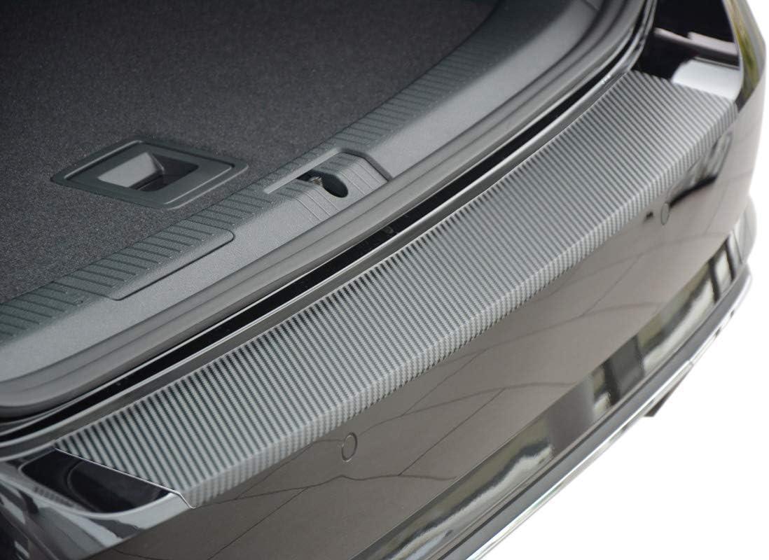 Tuneon Ladekantenschutz Aus Edelstahl Carbon Für Golf 7 Variant Auto