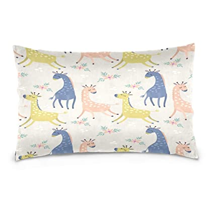 Amazon Com Flowerfish Cute Giraffe In Pastel Color Ultra Soft And