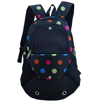 YOUJIA Perro Mochila Ajustable bolso de Pecho portátil Frente Transpirable para Pequeña mascota / Cuadrícula Impreso: Amazon.es: Hogar