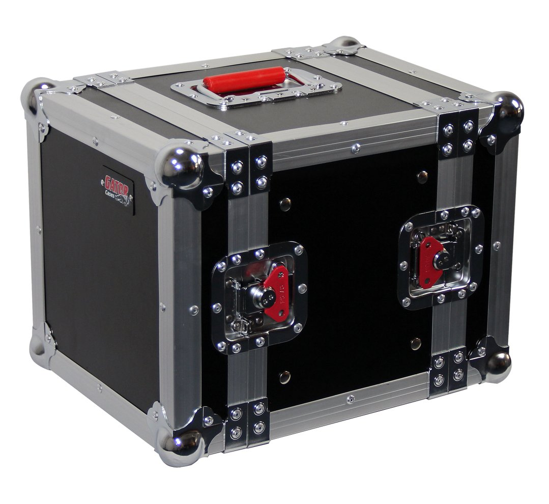 Gator Cases G-TOUR Series ATA Road Style Half Rack Case; 8'' Rackable Depth, 6U Size (G-TOUR 6UHR)