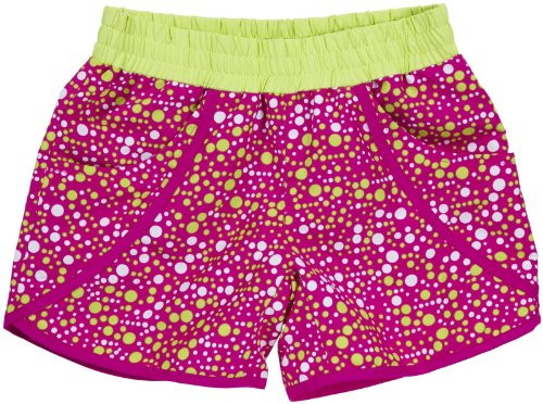Columbia Sportswear Girls' 'Solar System II' Board Shorts (Kids) - Groovy Pink - X-Large