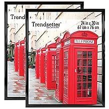 MCS Trendsetter Poster Frame (2 Pack), 24 X 30-Inch, Black