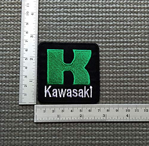 SNOW - 1 PC Select Patch Sponsot Racing Embroidered Iron On Patch Applique Sew - Kawasaki -