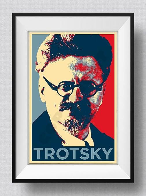 LEON TROTSKY HOPE POSTER PHOTO PRINT ORIGINAL ART GIFT