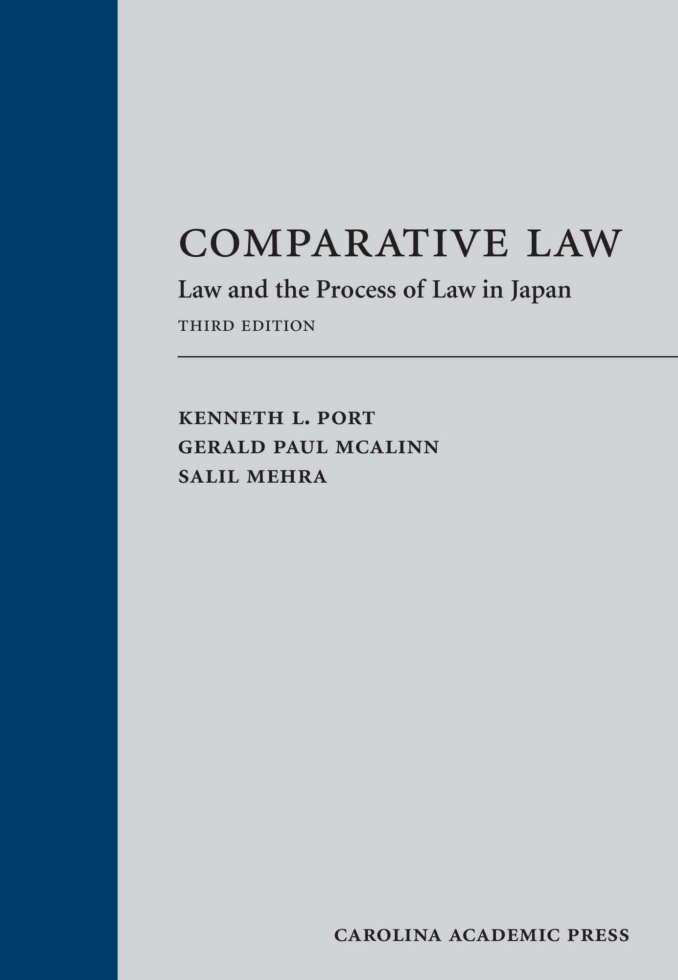 amazon comparative law law and the process of law in japan