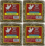 Happy Hen Treats Treat for Pets, Mealworm and Sunflower, 5.5-Ounce - 4 PACK