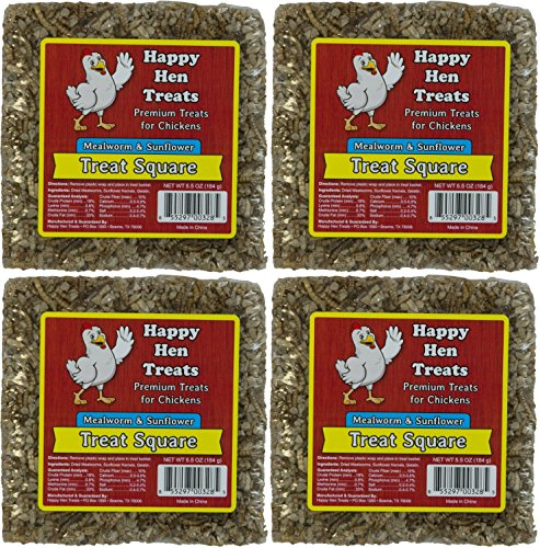 (Happy Hen Treats Treat for Pets, Mealworm and Sunflower, 5.5-Ounce - 4)