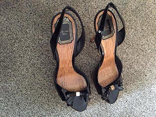 christian-dior-black-sandals