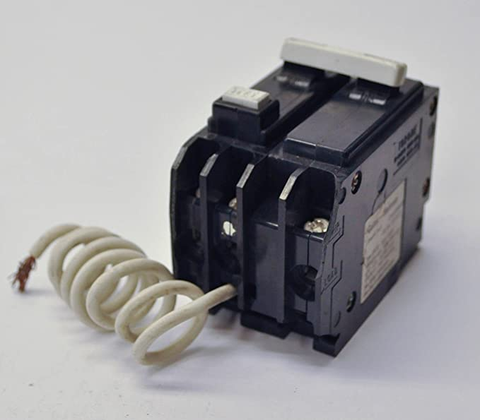 Cutler Hammer GFCB220 20 Amp 2 Pole GFCI Circuit Breaker Plug-in 120/240V for BR Series Panel (Does not Fit in a Cutler Hammer CH Series Panel)