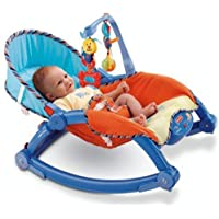 Toykart Newborn to Toddler Vibrating Rocker Chair for Kids, Baby with Calming Vibrations, Adjustable Mode,Portable
