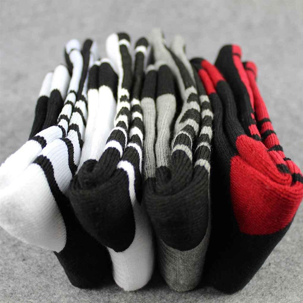 Bobury Thicken Towel Men Socks Sport Baloncesto Profesional Elite Sock Baloncesto Calcetines Deportivos Ciclismo Calcetines de Bicicleta