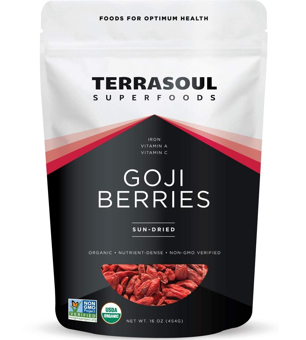 Amazon Com Terrasoul Superfoods Organic Goji Berries 16 Oz